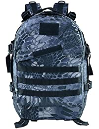 b09d7c282b8 Gharpbik Tactical Backpack PUBG Military Mountaineering Bag 45L Assault  Backpack Tactical Combat Backpack…