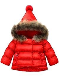 ARAUS-Manteau Bébé Fille Enfants automne hiver Manteau doudoune Vêtements chauds d'enfants Pour 0-7 Ans