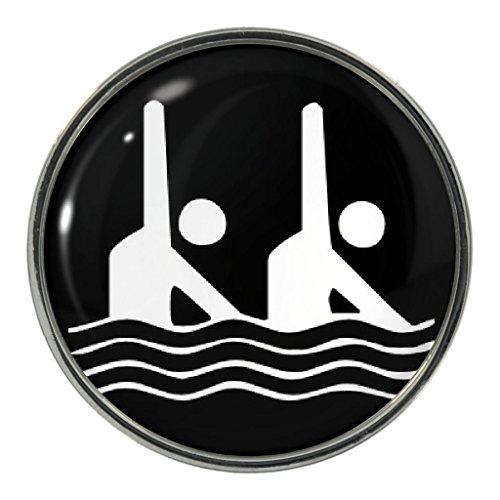 Silber abzeichen schwimmen