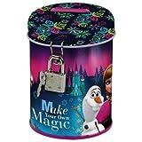 Disney Frozen Tirelire en Métal Fermeture avec Cadenas Idée Cadeau La Reine des Neiges