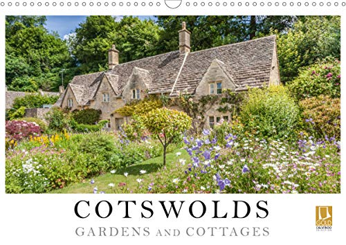 Cotswolds Gardens and Cottages (Wall Calendar 2020 DIN A3 Landscape): The Cotswolds is one of the most beautiful and magnificent areas in the green ... calendar, 14 pages ) (Calvendo Places)