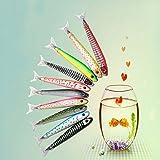 Cdet 1X Creativo papelería Peces bolígrafo océano Signature bolígrafo para proveedores de Office School,Color Aleatorio