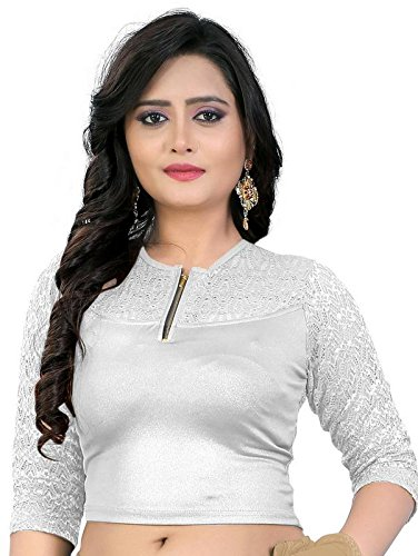 PRE SMART SILVER READY MADE STITCHED STRETCHABLE BLOUSES