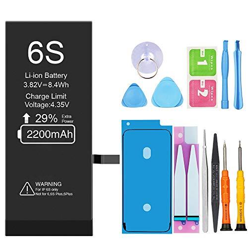 Vancely 2200mAh Batería iPhone 6S Alta Capacidad
