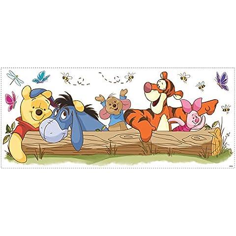 RoomMates Disney - Adesivo da parete di Winnie the Pooh e amici