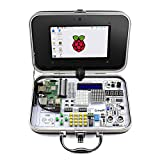 Elecrow CrowPi Raspberry Pi 4B 3 B+ Advanced Kit for Learning Computer Science, Programming, Electronics includes 21 Python Video Courses