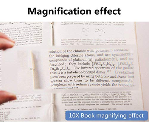 Zoom IMG-2 lente 10x d ingrandimento lettura