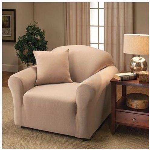 Preisvergleich Produktbild Jersey Stretch Sofa Protector Slip Cover 70 x 140 Chocolate by Kashi
