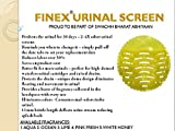 #7: Finex Urinal Screen Mat - 10 Pcs Set (Available In 10 New Fragrances Which Lasts Upto 30 Days)