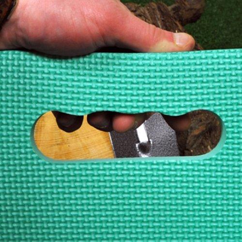 Kingfisher Extra Groß Kniebank für den Garten Kissen