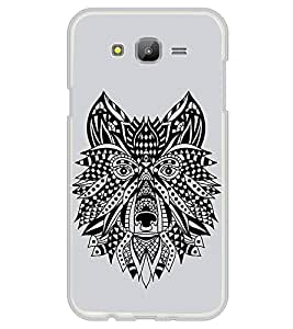 Fiobs Designer Back Case Cover for Samsung Galaxy On5 (2015) :: Samsung Galaxy On 5 G500Fy (2015) (Dog Face Mask Art Symbol)