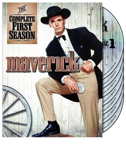 MAVERICK TV series 1 (complete first season). region 2