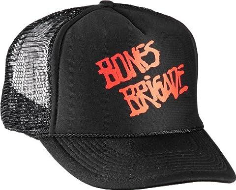 powell-peralta Bones Brigade Script Mesh Hat, Black