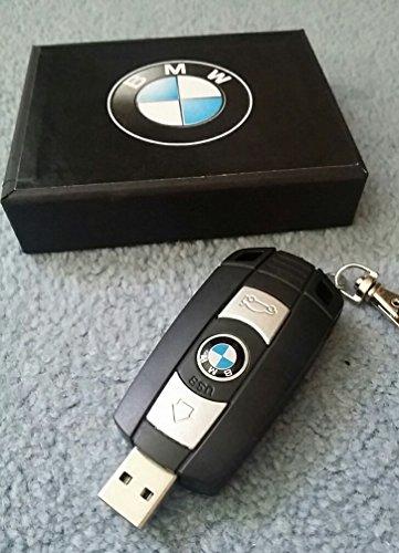 USB - Stick 8 GB Design Drivers Selection Fahrzeugschlüssel 8GB BMW Schlüsselanhänger Replik mit Funktiontasten - Flash-Laufwerk (Galaxy Replik)