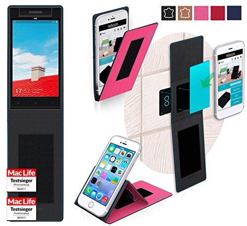reboon Hülle für Gionee Elife E7 Mini Tasche Cover Case Bumper | Pink | Testsieger