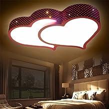 Xin Home Doppel Herz Deckenleuchte Romantische Hochzeit Zimmer Schlafzimmer  Auge Energie Beleuchtung Einfache Moderne Mädchen Kinderzimmer