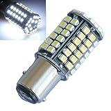 Bay 15D LED 80-smd LED Auto Schwanz Bremse weiß Lampen Lampe für Auto Blinker 12 V DC Set von 2