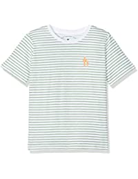 TOM TAILOR Kids Jungen T-Shirt Cool Inside Stripe Tee