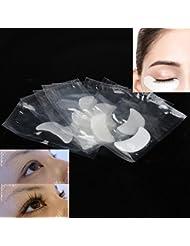 10 paires 10 paires Protections oculaires Coussinet pour les cils Gel Patch Lint individual Lashes Extension Masque pour les yeux