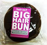 Hair-so? Massive 6 Inches Wide Big Hair Bun Extra Large Hair Doughnut Donut Bridal Wedding Hollywood Hair Style Bun Ring - Choose Colour- Brown, Black or Blonde (Blonde) by Hair-So
