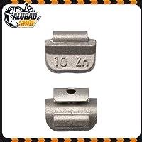 10g Schlaggewichte Auswuchtgewichte Wuchtgewichte für Stahlfelgen 100 Stück