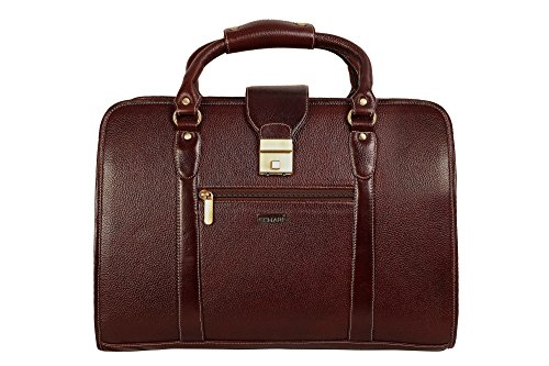 f2e19d1c7ffd SCHARF Monte Berlin- The Whole Nine Fence Genuine Leather 15.6″ Expandable  Laptop CarryCase AMB53BR –   Rs.4