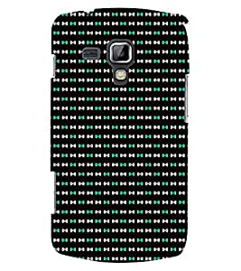 TOUCHNER (TN) Infiniti Pattern Back Case Cover for Samsung Galaxy S Duos S7562
