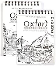 Anupam Oxford Sketch Pad - 50 Sheets, 120GSM (A5 Size) - Pack of 2 Pcs