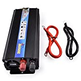 Wechselrichter,2000 W Auto-Wechselrichter, von 24 V bis 220 V, Adapter für modifizierten Sinus-Wandler
