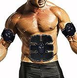 WJW Eléctrica Estimulación Muscular Estimulador Muscular   Electro Estimuladores Musculares para Un Cuerpo Tonificado Y Definido