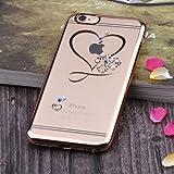 Unendlich U Hohles Herz Transparente Handy Zubehör Weiche Silikon Schutzhülle für iPhone 6 und für iPhone 6s 4,7 Zoll - 3