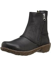 El Naturalista Damen Ne28 Soft Grain Black/Yggdrasil Schlupfstiefel