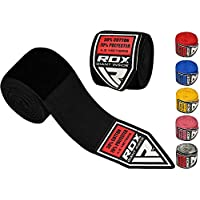 RDX Boxing Hand Wraps Elasticated MMA Inner Gloves Fist Protector 4.5 meter Bandages Mitts