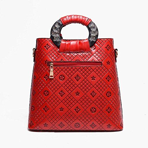 GBT High-End-bewegliche Handtasche Umhängetasche diagonal Wild Red