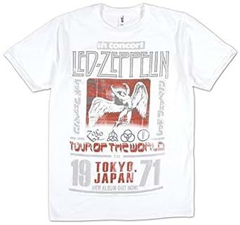 T-Shirt - Led Zeppelin - Tokyo 71 M White