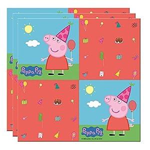 20 Servietten * PEPPA PIG * für Kindergeburtstag und Mottoparty // Wutz Kinder Geburtstag Papierservietten Napkins