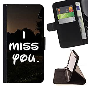 Jordan Colourful Shop -I Miss you Lover Heart -- Ledertasche hohe Schlagd?mpfung Fall FOR Samsung GALAXY G850 SM-G850F G850Y G850M ---