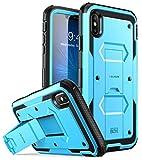 i-Blason Coque iPhone XS Max, Coque Anti-Choc avec Protecteur d'écran Intégré et...