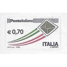 50 francobolli NUOVI da € 0,70 (35 euro) autoadesivi per spedizioni scontati del 20% Poste Italiane SOTTOFACCIALE