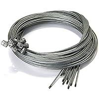 Mayitr 10Pcs Fahrrad Innere Seil Kabel Bremsleitung für Mountainbike 1,75 m