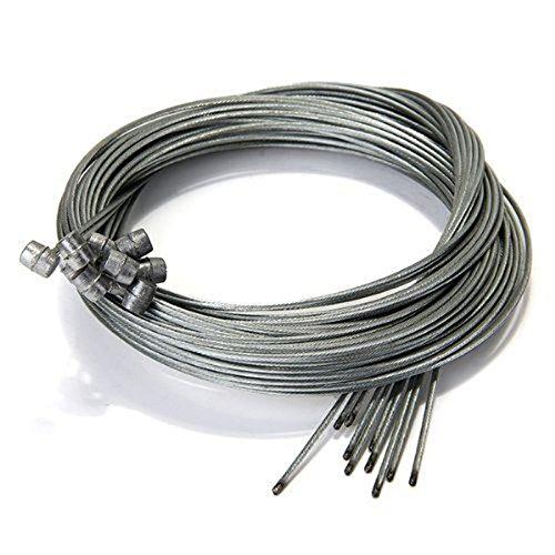se Kabel Bremse Ausrüstung Drähte Kabel Fahrrad MTB 10 STÜCKE ()