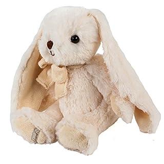 Teddys Rothenburg Kuscheltier Kuschelhase Hase André 40 cm weiß mit langen Ohren Plüschhase