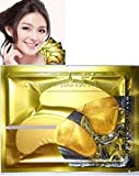 Natural crystal collagen gold powder eye mask, Anti-Aging eliminates dark circles and fine lines Face care Skin care