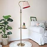 vbimlxft- Nordic Wohnzimmer Mädchen Schlafzimmer Regal Lampe American Retro Vertikale E27 Eisen Stehlampen 160x26cm Stehlampe