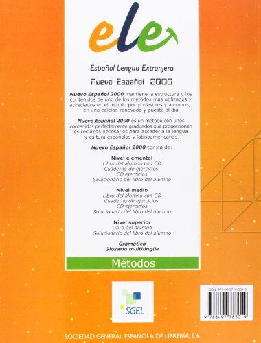 Español 2000 elemental ejercicios: Cuaderno De Ejercicios 1