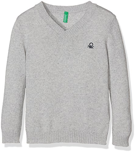 united-colors-of-benetton-1032c-pull-garon-gris-light-grey-18-24-mois-taille-fabricant-2y