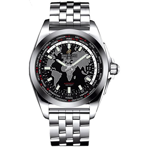 Breitling Men's Galactic Unitime 44mm Automatic Analog Watch...
