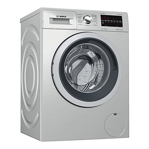 Bosch Serie 6 WAT2849XES Independiente Carga frontal 8kg 1400RPM A+++ Acero inoxidable...