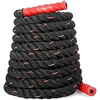 SportPlus Battle Rope, Hochwertiges Schlagseil für Kraftausdauer & Muskelaufbau, Schwungseil für effektives Ganzkörpertraining