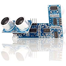 Aukru 3x HC-SR04 Ultrasonic Module Distance Measuring Transducer Sensor for Arduino